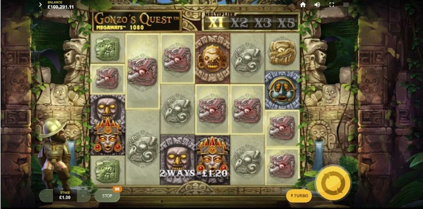 Gonzo's Quest Megaways - NetEnts favoritslot återupplivad